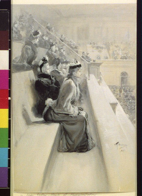 [In the ladies' gallery, House of Representatives] 35:1017 (Dec. 19, 1891)