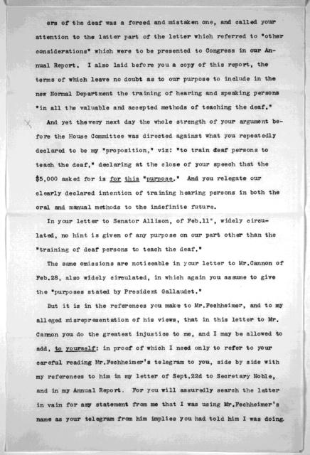 Letter from Arthur McCurdy, March 31, 1891