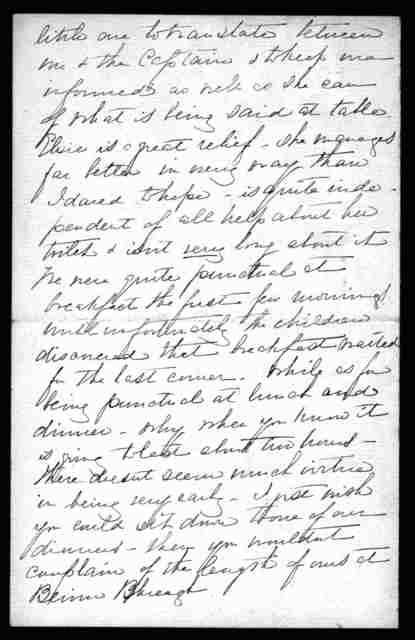 Letter from Mabel Hubbard Bell to Alexander Graham Bell, December 17, 1891