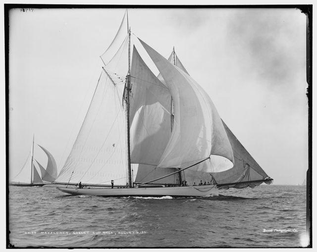 Mayflower, Goelet Cup Race