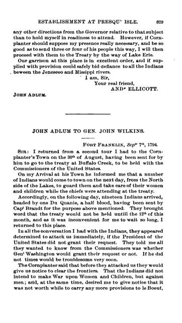 Papers relating to the French occupation in western Pennsylvania, 1631-1764.