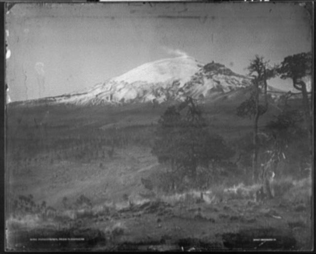 Popocatepetl from Tlamancas [i.e. Tlamacas]