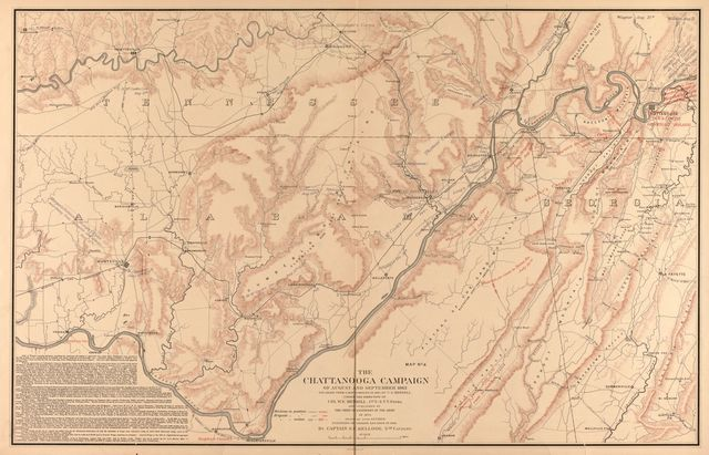 The Middle Tennessee and Chattanooga campaigns of June, July, August, and September 1863.