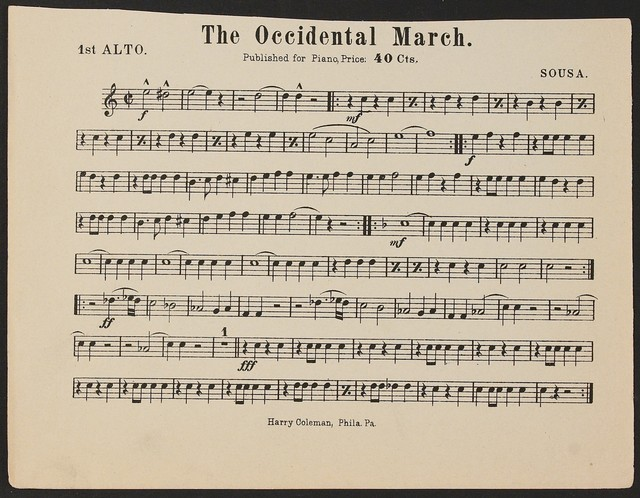 The  Occidental March