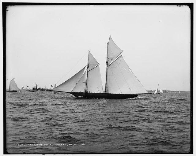 The Volunteer, Goelet Cup Race, August 7, 1891