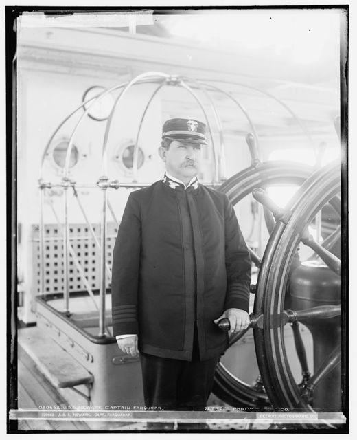 U.S.S. Newark, Captain Farquhar