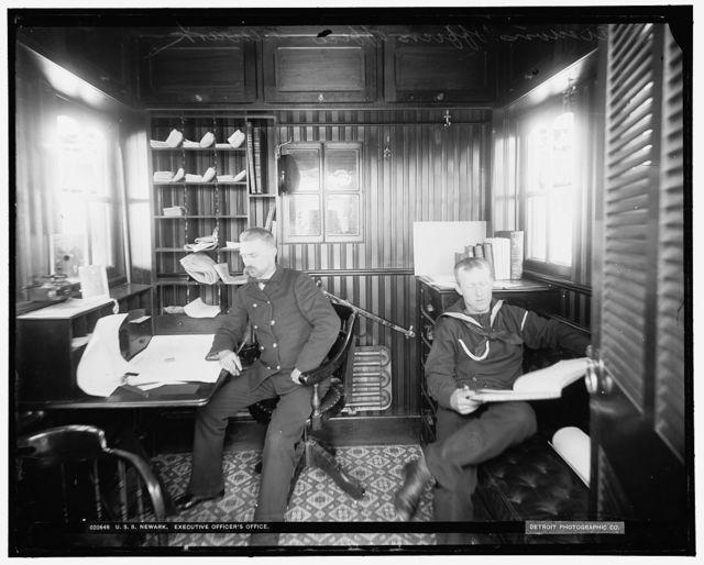 U.S.S. Newark, executive officer's office