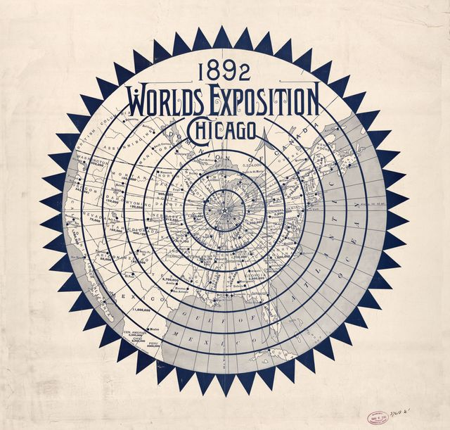 1892 Worlds Exposition, Chicago.
