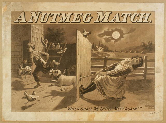 A nutmeg match written by Wm. Haworth, author of The Ensign.