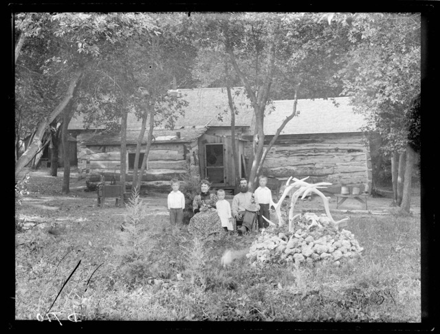 Al Wise ranch near Callaway, one of the oldest settlers on the South Loup River.