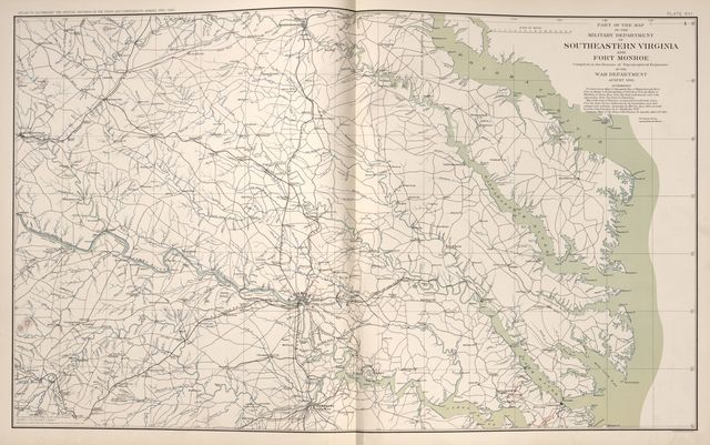 Atlas of the war of the Rebellion giving Union and Confederate armies by actual surveys by the Union and Confederate engineers, and approved by the officers in command, of all the maps herein published /