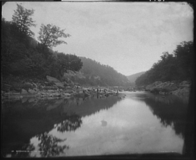 Barton's Glen on the Yough [i.e. Youghiogheny]