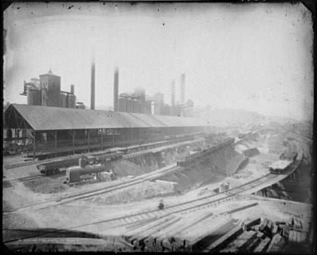 Bessemer Steelworks, Pittsburg Div.