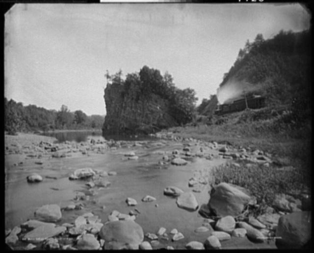 Bullneck Rock, east of Piedmont