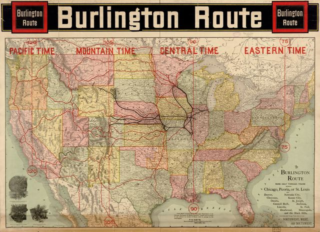 Burlington Route.
