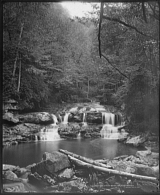Cascades on the nth. fork of the Blackwater