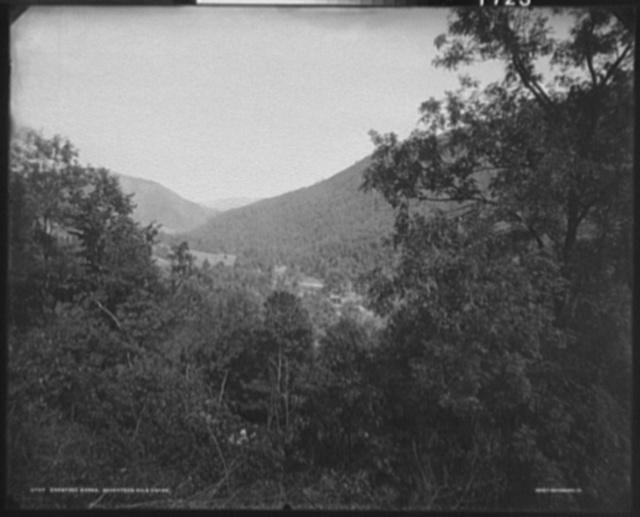 Crabtree gorge, seventeen mile grade