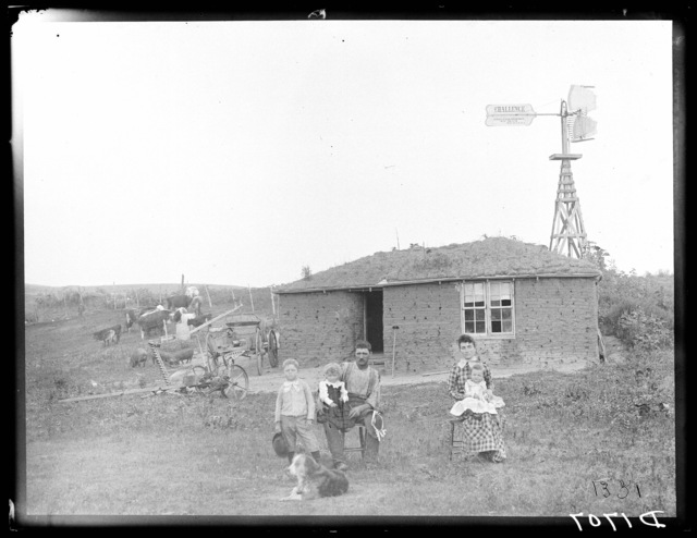 Deafenbaugh, near Westerville, Custer County, Nebraska.