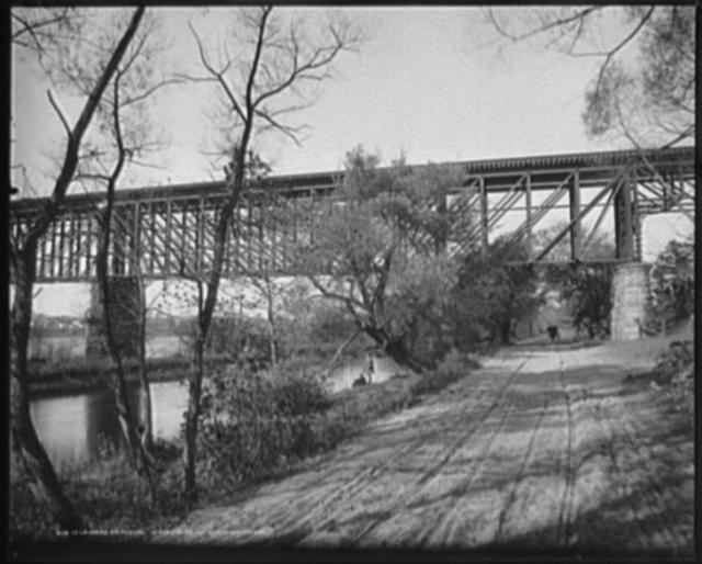 Delaware crossing, Jersey side