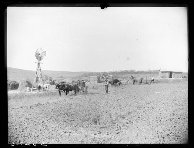 Farm in southwestern part of Custer County, Nebraska.