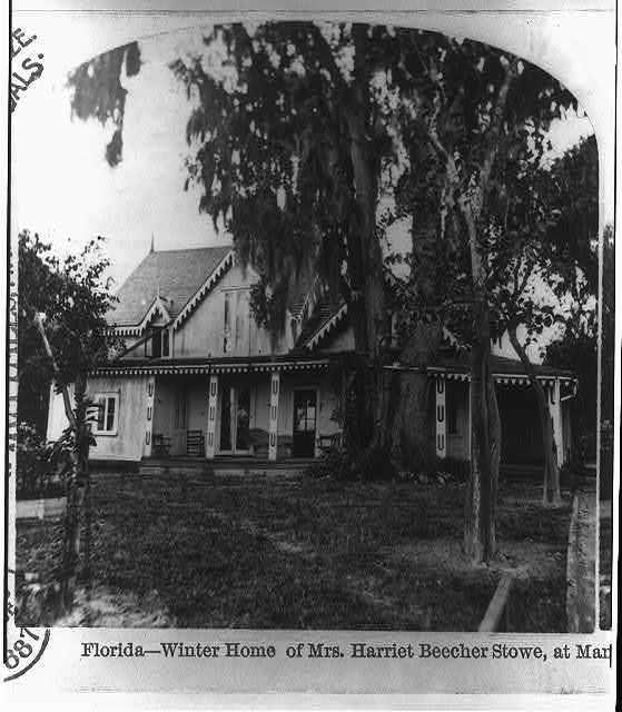 Florida --winter home of Mrs. Harriet Beecher Stowe, at Mandarin