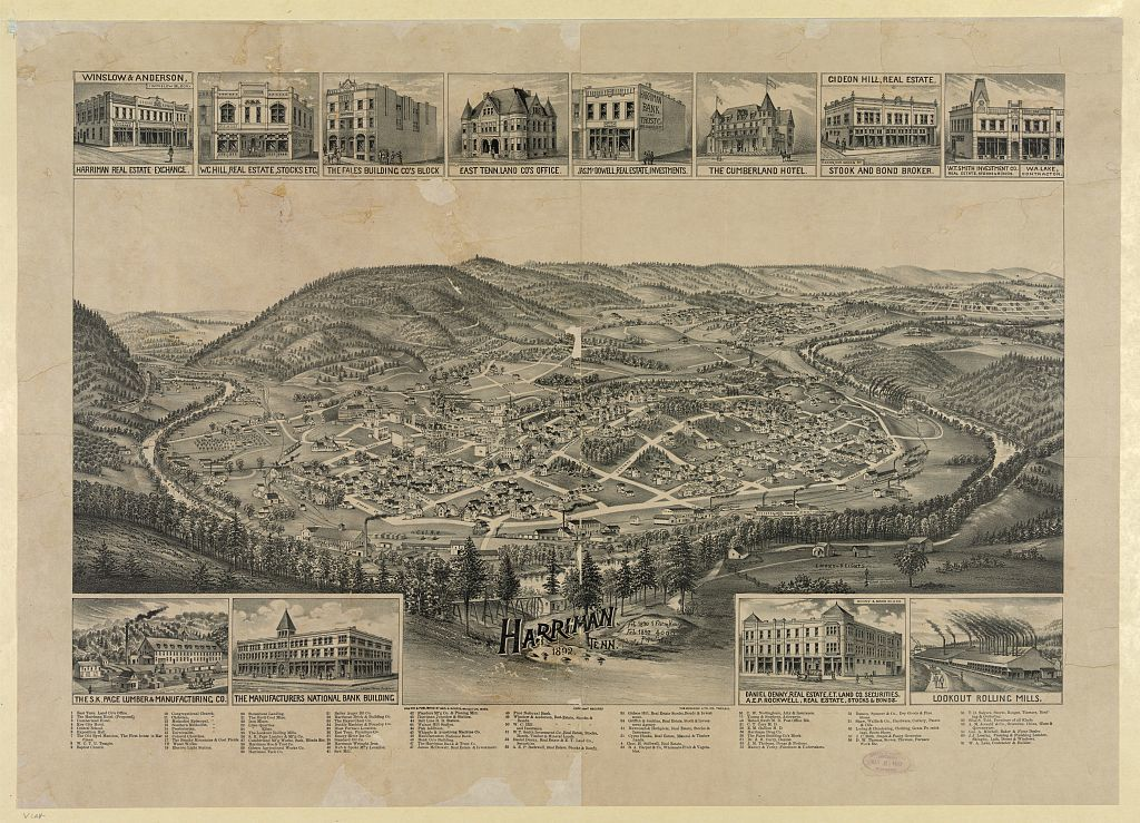 Harriman, Tenn. 1892