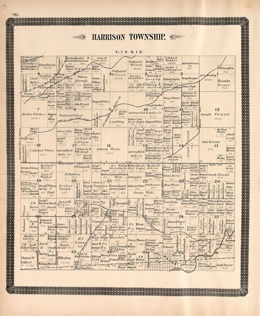 Historical atlas of Paulding County, Ohio : containing maps of Paulding County, townships, towns and villages : also maps of the United States and state of Ohio, together with a statement of the settlement, growth and prosperity of the county, including a personal and family history of many of its prominent citizens : illustrated /