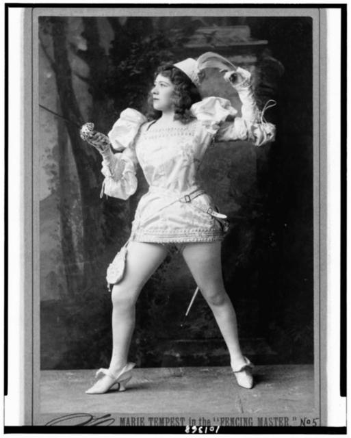 """Marie Tempest in the """"Fencing master"""" / Sarony, 37 Union Sqr., N.Y."""