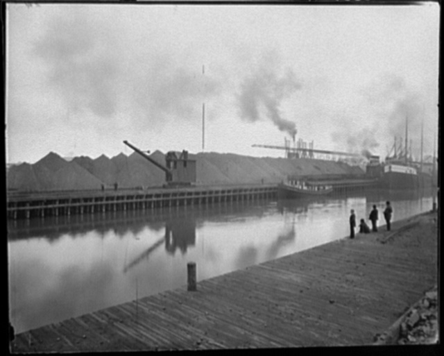 Ohio, Fairport ore docks