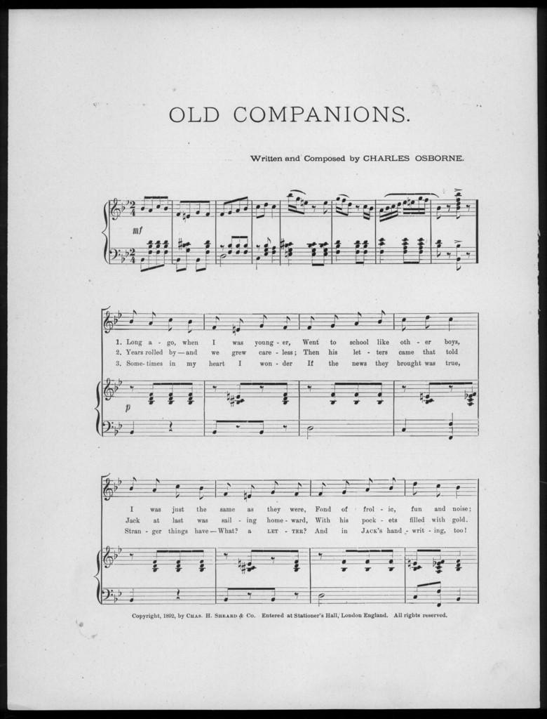Old companions