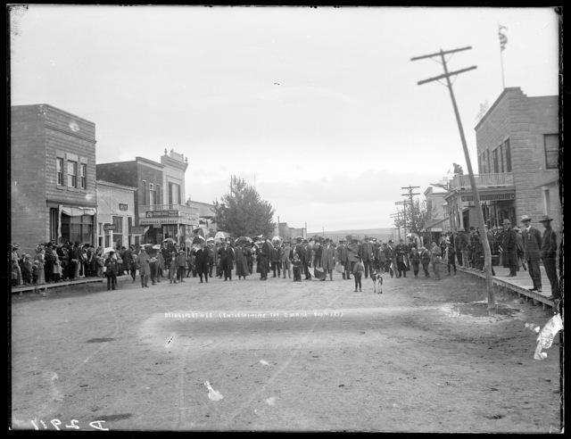 Omaha boomers at Bridgeport, Morrill County, Nebraska