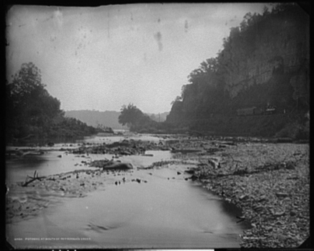 Potomac at mouth of Patterson's Creek