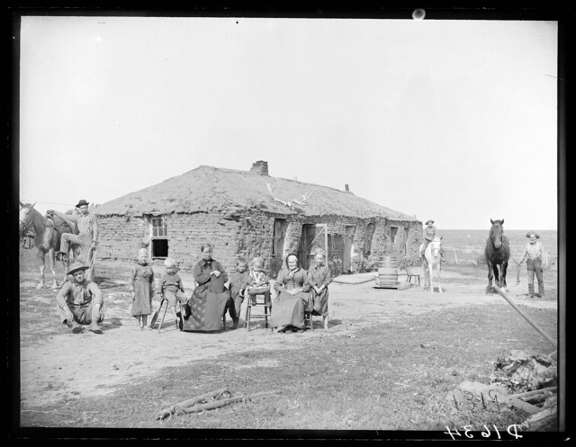 Samuel Neve homestead, southwest Custer County, Nebraska.
