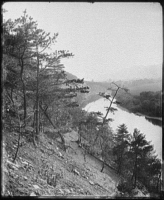 South branch of the Potomac, south from Yellow Hill