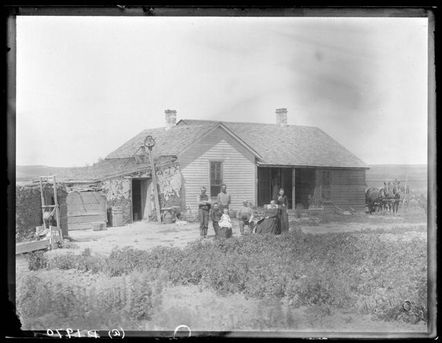 Southwest Custer County, Nebraska.