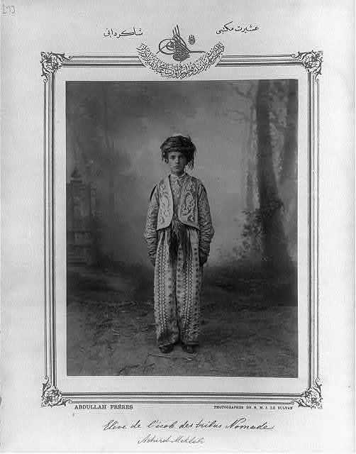 [Student, Aşiret School] / Abdullah Frères, photographes de S.M.I. le Sultan.