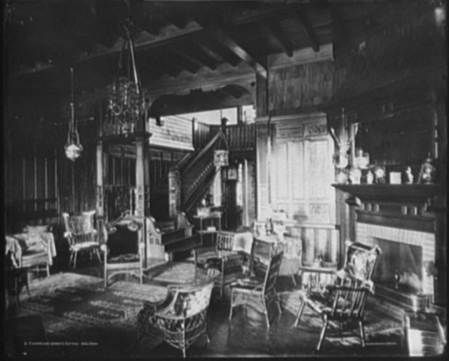T. Harrison Garret's [i.e. Garrett] Cottage, Deer Park