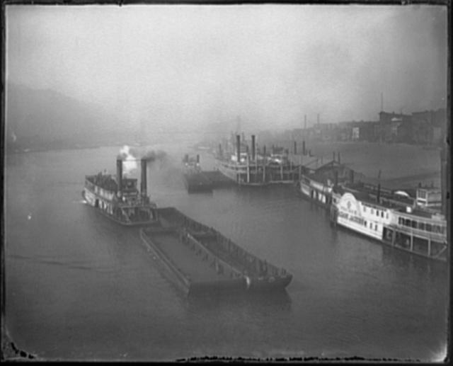 [The River Monongahela at Pittsburg]