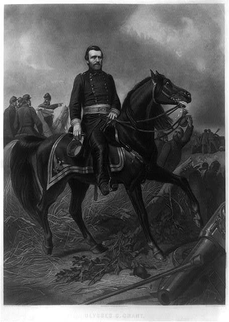 Ulysses S. Grant / C. Schussele 1863 ; eng. by William Sartain, Phila.
