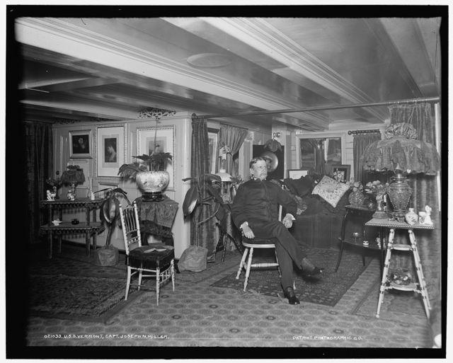 U.S.S. Vermont, Capt. Joseph N. Miller