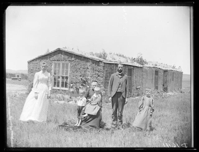 William Evans, ten miles south of Berwyn, Custer County, Nebraska.