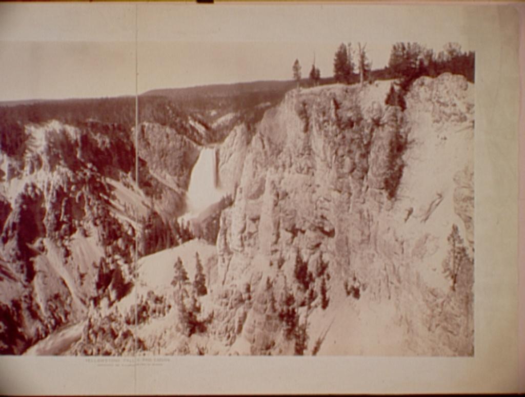Yellowstone Falls and Canon
