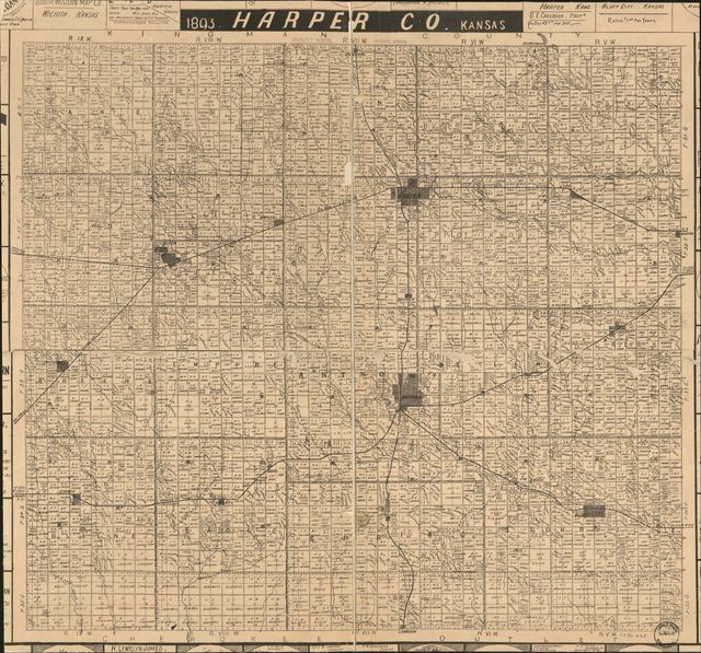 1893 Harper Co. Kansas.