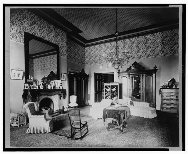 [Bedroom in the White House, Washington, D.C.]
