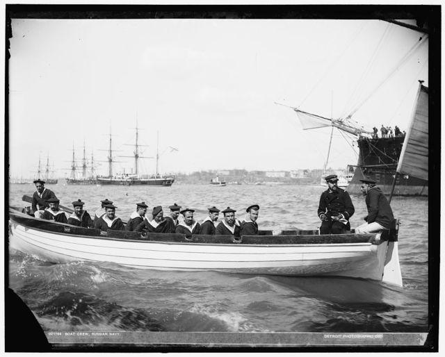 Boat crew, Russian [i.e. French] navy