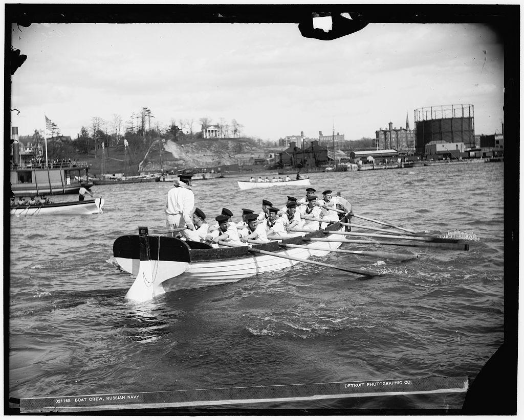 Boat crew, Russian navy