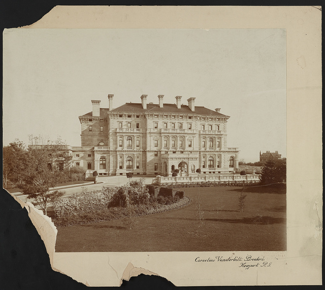 Cornelius Vanderbilt 'Breakers,' Newport, R.I. / Frank H. Child, photographer, Newport, R.I.