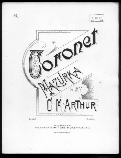Coronet Mazurka