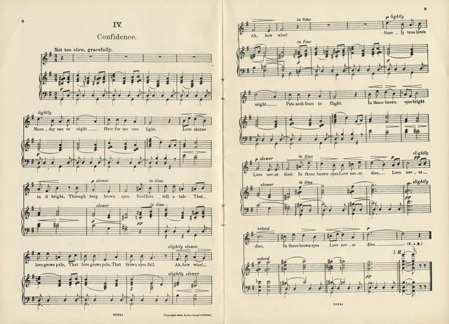 Eight songs, op. 47