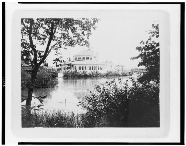 Fisheries Building from Wooded Island